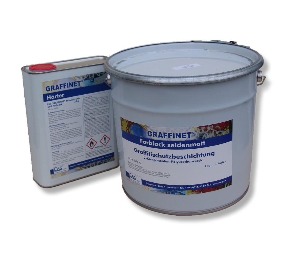 GRAFFINET® 2K-PU -farbig