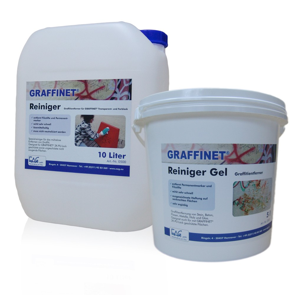 GRAFFINET® Reiniger, flüssig und Gel